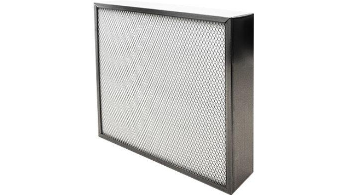 F9 Air Metal Panel Filter Dualflo