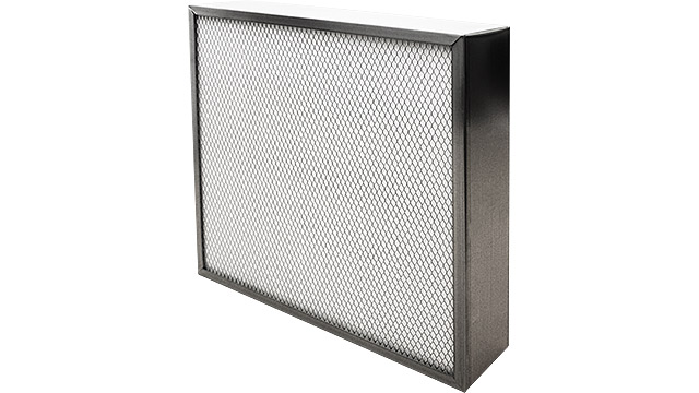 F9 Air Metal Panel Filter Dualflo