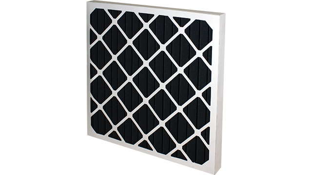 Carbon Pleated Panel Filter G4 Black