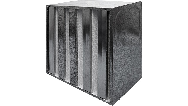 HEPA Filter Metal multi-wedge