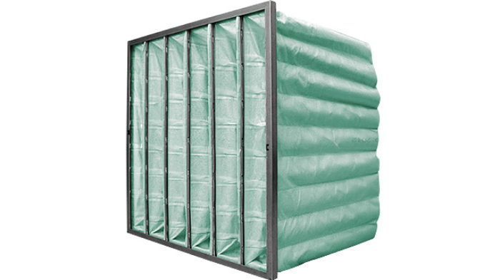 HVAC Bag Filter Green M6