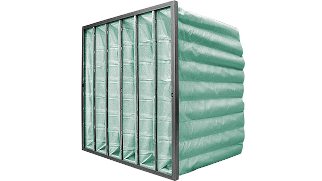 HVAC Bag Filter Green M6