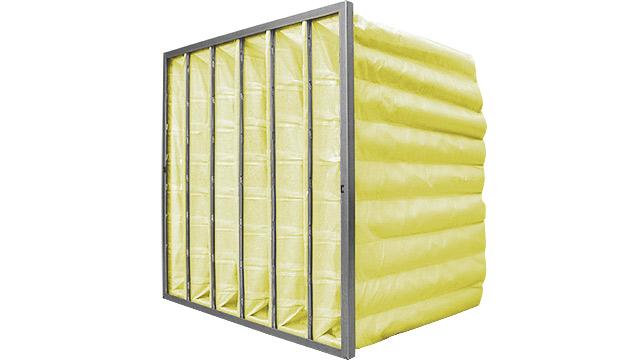 HVAC Bag Filter Yellow F8