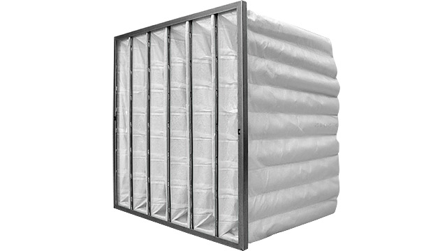HVAC Bag Filter White F9