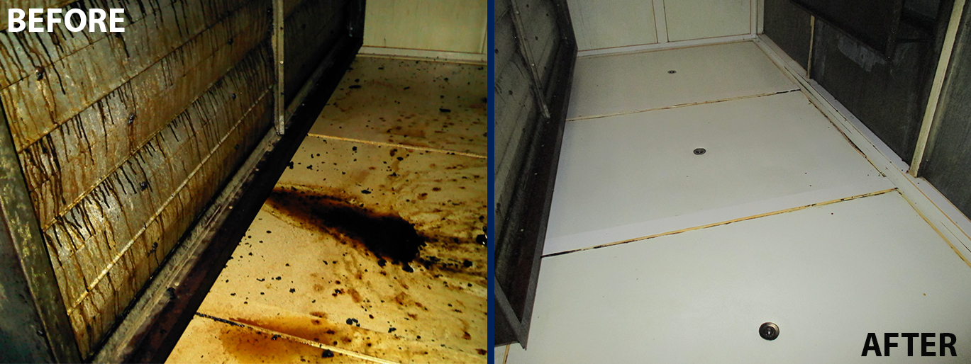 Air Handling Unit cleaning