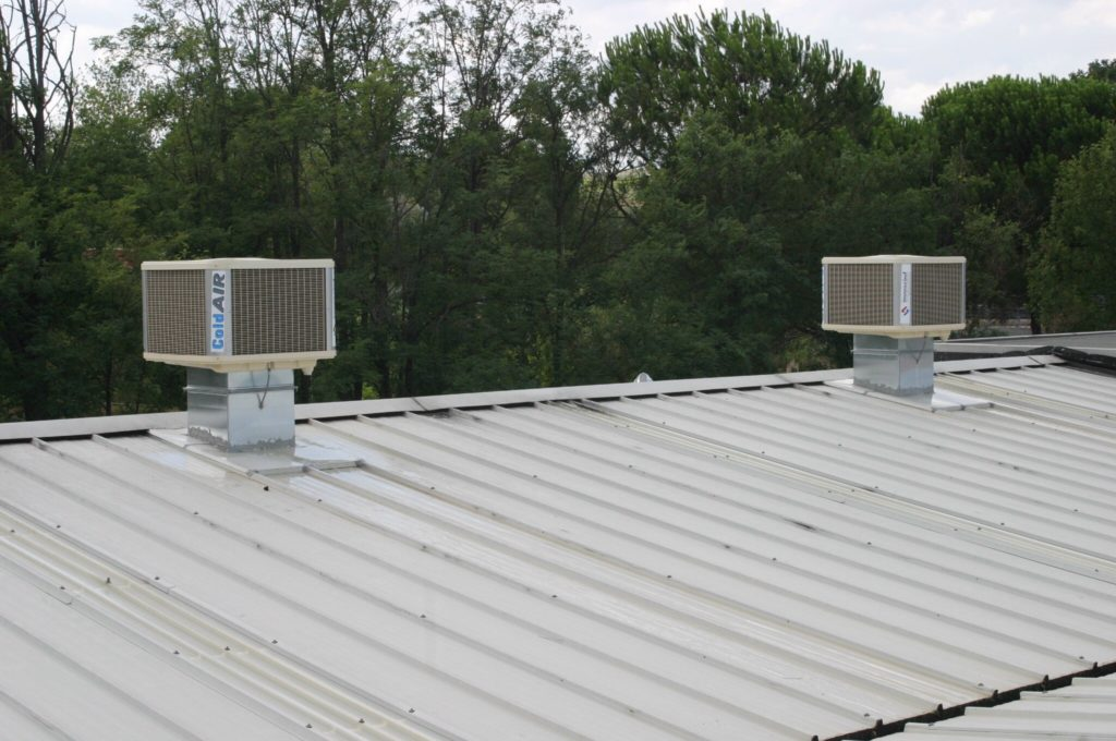 Roof void cooling solutions