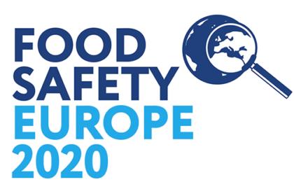 Food Safety Europe 2020 logo