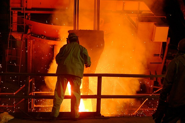 Steel mill benefitting from Avetta accredited suppliers
