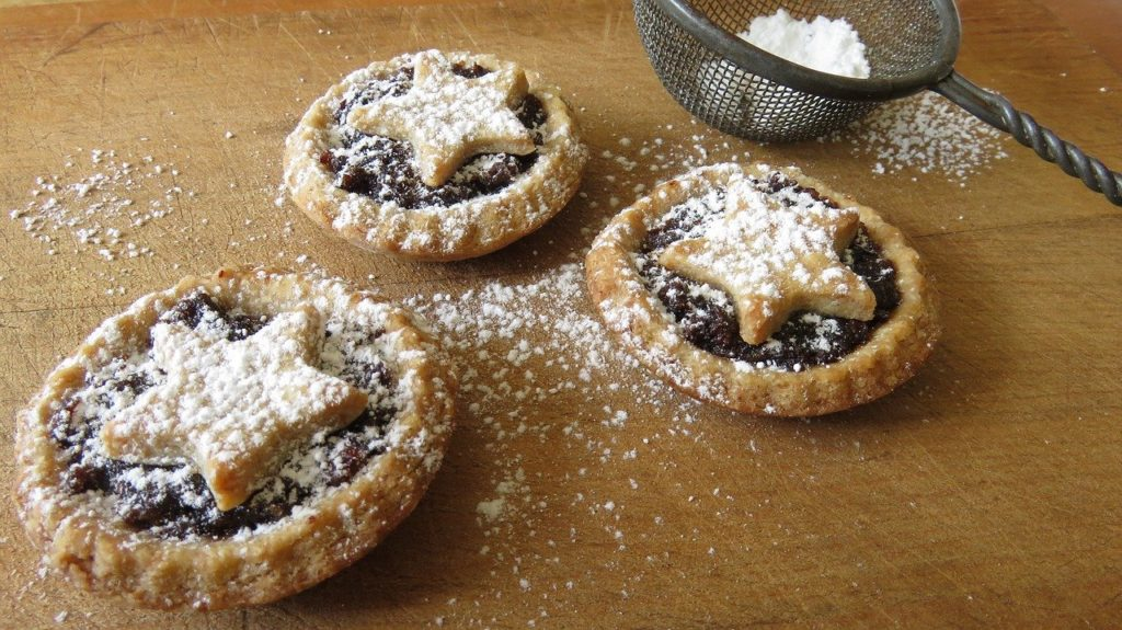Christmas food - mince pies