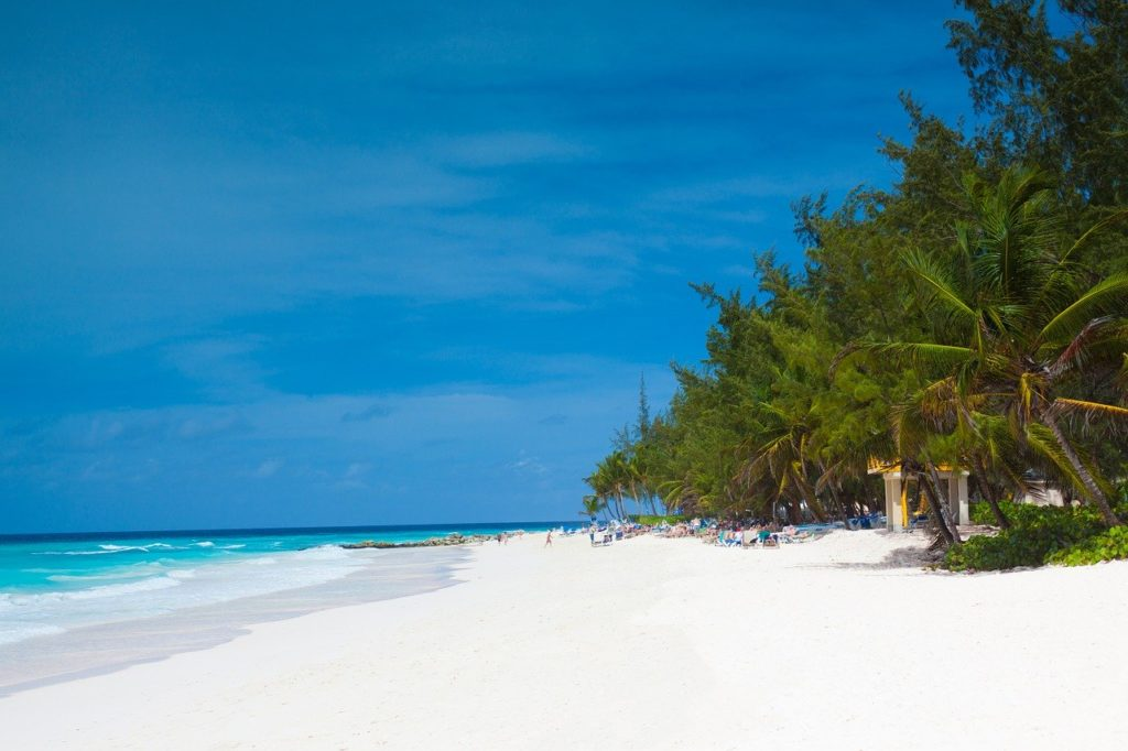 Barbados - where Darren Carvell would like to live