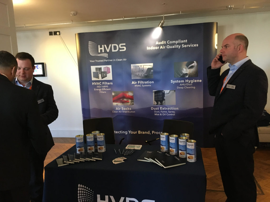 HVDS stand at Food Safety Europe 2020