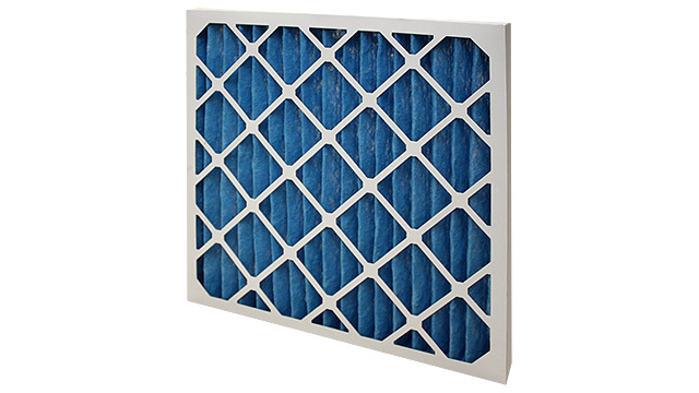 AHU air filter - pleated panel primary filter