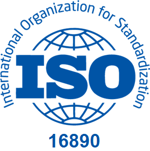ISO 16890 logo - for AHU air filter standards