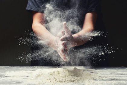 Workplace dust - flour dust