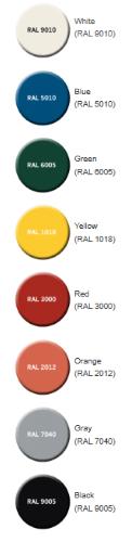 Air sock colour options