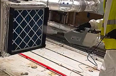 Engineer Fogging Pleated Panel Filter