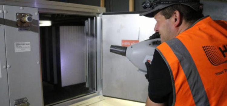 Engineer fogging air handling unit